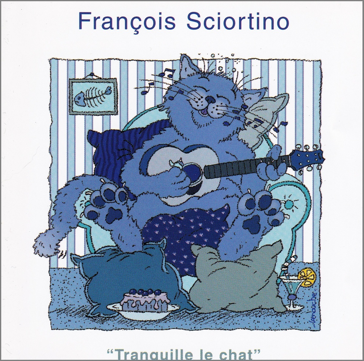 François Sciortino -Tranquille le Chat